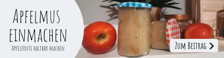 Apfelmus selber machen & Apfelmus einmachen: So könnt Ihr Apfelmus ganz einfach einmachen