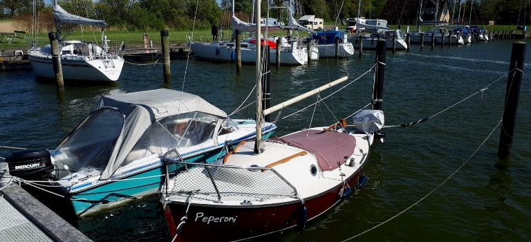 Wohnmobilstellplätze Schleswig-Holstein: Womo Stellplätze im Norden: Sportboothafen Fleckeby