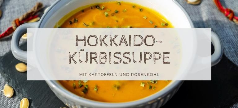 Hokkaido-Kürbissuppe mit Kartoffeln und Kohl: Herbstliches Suppenrezept