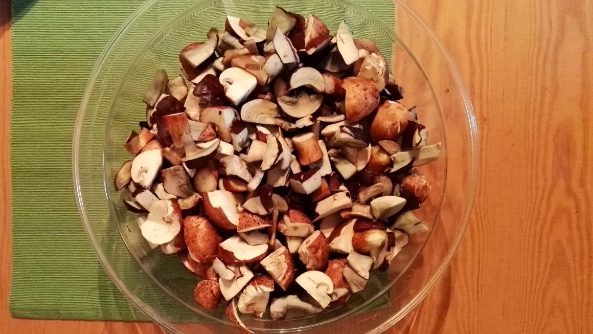 Schnelle Pilzpfanne und Tipps zum Pilze sammeln: Leckeres Rezept mit selbst gesammelten Pilzen und Spinat