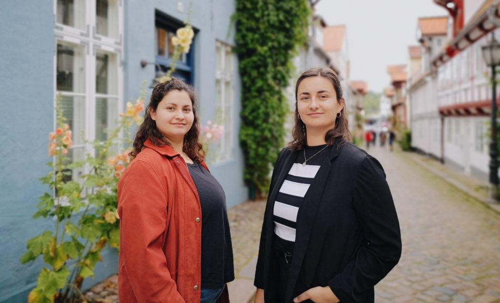 Das Nordischgruen Green-Team: Larissa und Annika.. Regionaler Blog über nachhaltiges Leben in Norddeutschland.