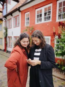 Das nordischgruen Green-Team: Larissa und Annika. Blog über nachhaltiges Leben in Norddeutschland