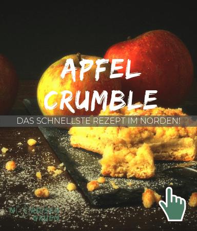 Apfel Crumble: Schnelles und einfaches Rezept! Einfach lecker! Apfel Rezepte