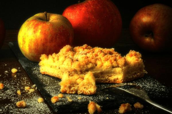 Apfel Crumble: Schnelles & einfaches Rezept