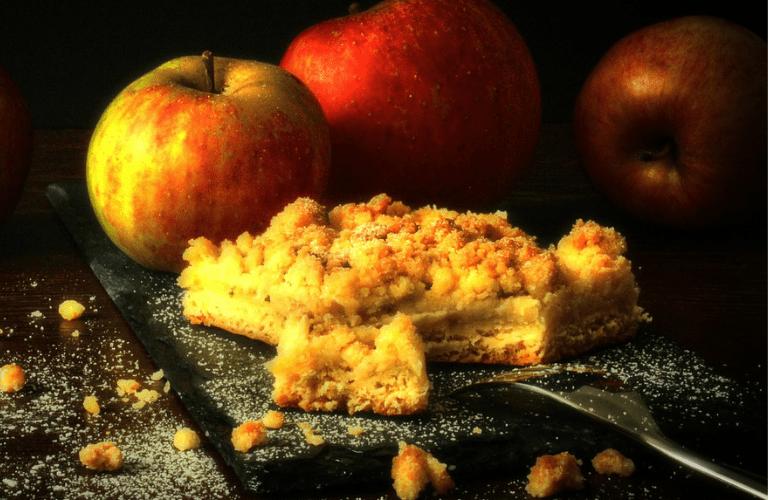 Apfel Crumble: Schnelles und einfaches Rezept! Einfach lecker!