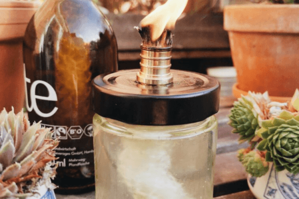Ölkerze selber machen: Upcycling ohne Erdöl!