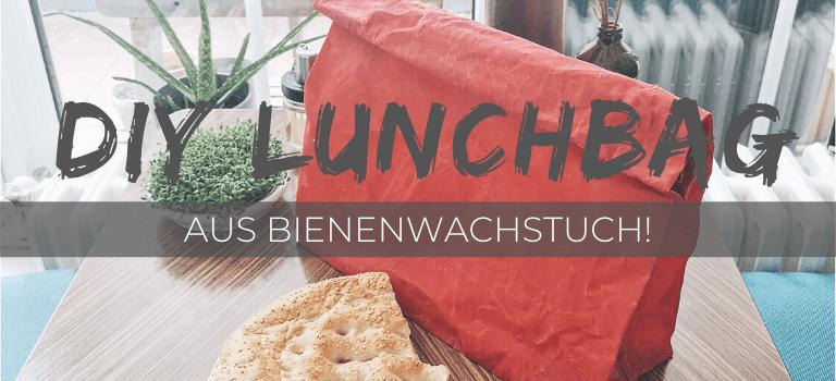 Lunchbag und Brotbeutel nähen: Einfache Anleitung aus Bienenwachstüchern! Bienenwachs Brotbeutel & Bienenwachs Lunchbag