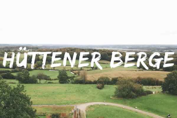 Unterwegs im Naturpark Hüttener Berge (1ter Stopp)