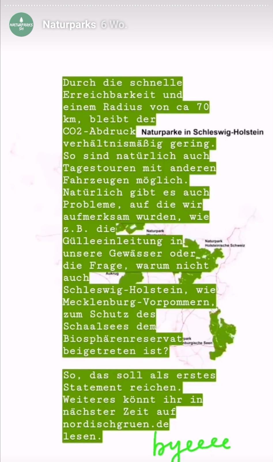 Naturpark Schlei: Naturparks Schleswig-Holstein: nordischgruen