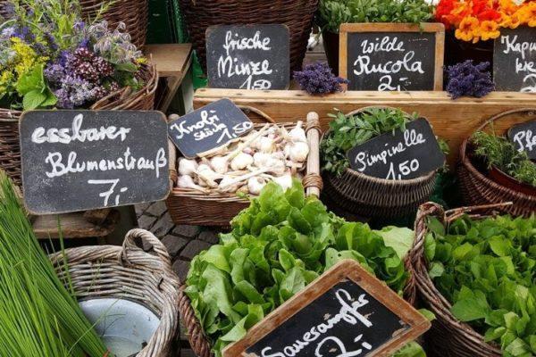 19 Wochenmärkte in Schleswig-Holstein