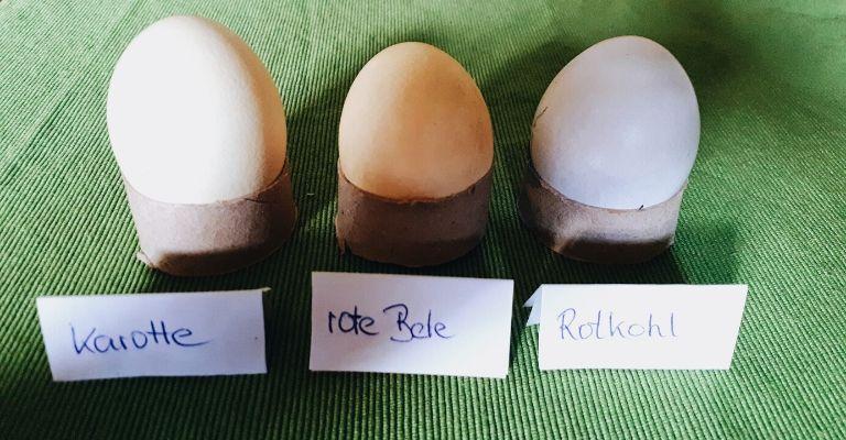 Eier färben natürlich: Welche Naturfarben zum Ostereierfärben funktionieren am besten?