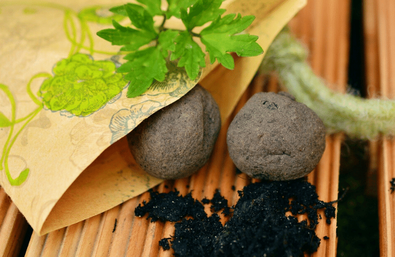 Einheimisch und bienenfreundlich: Samenbomben selber machen_Zutaten