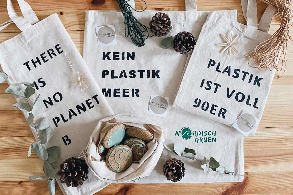 DIY Anleitung: DIY Stofftasche - Jutebeutel einfach selber bedrucken