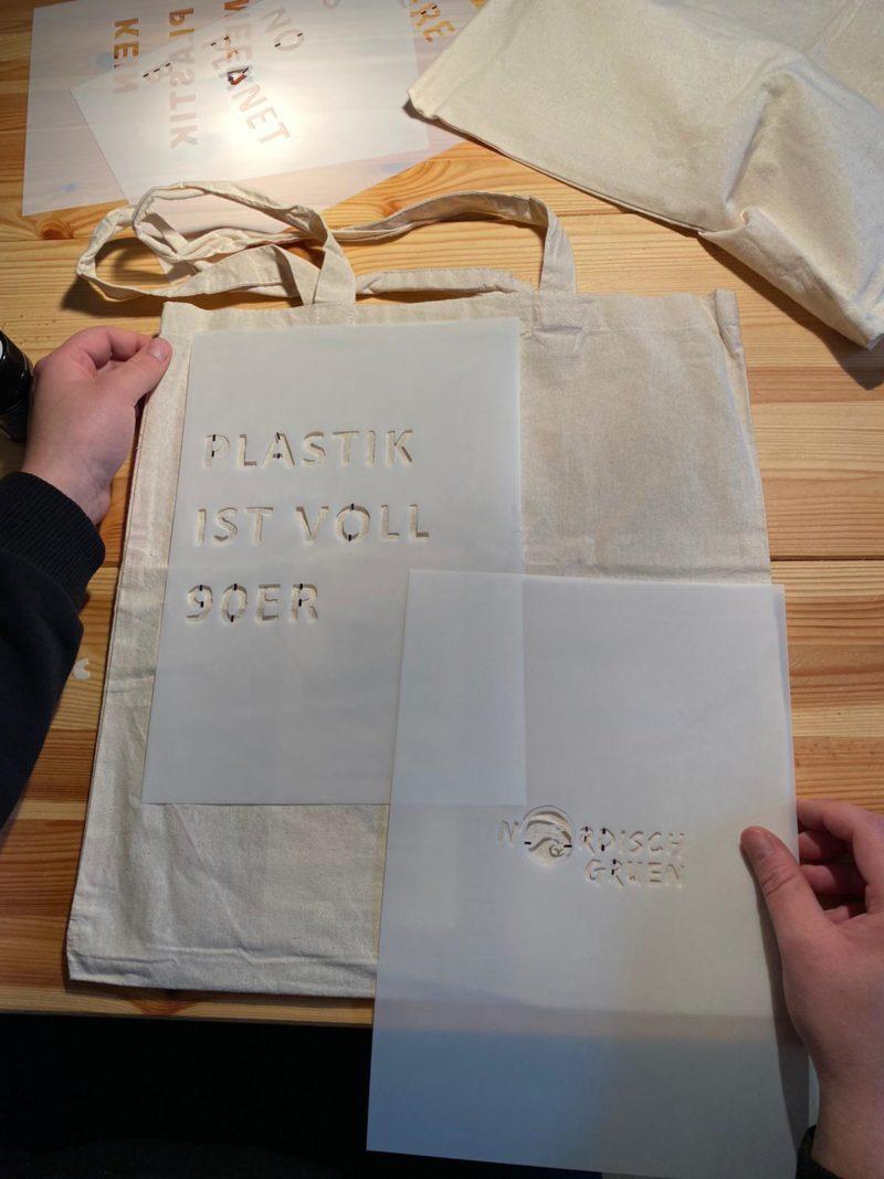 DIY Anleitung: DIY Stofftasche - Jutebeutel einfach selber bedrucken: Die Schablone