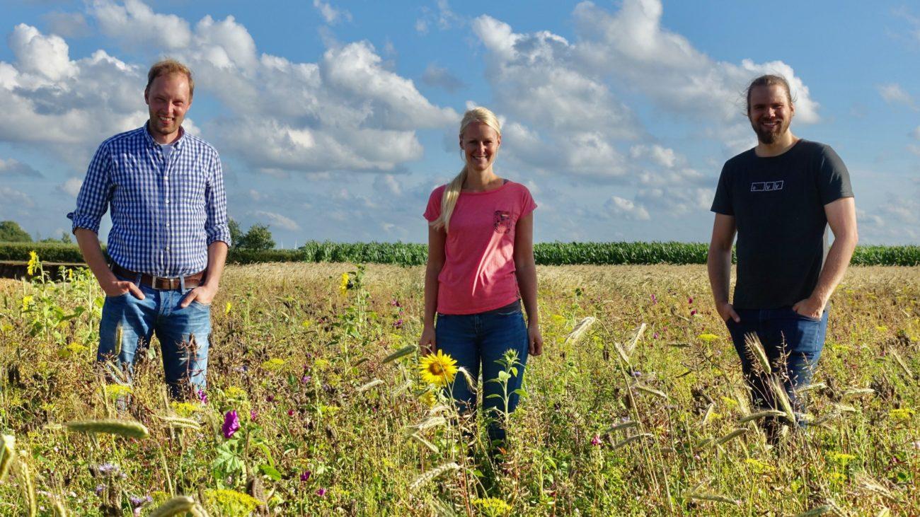 Das Team der Wilden Pracht_nordischgruen_Blühwiese Schleswig-Holstein