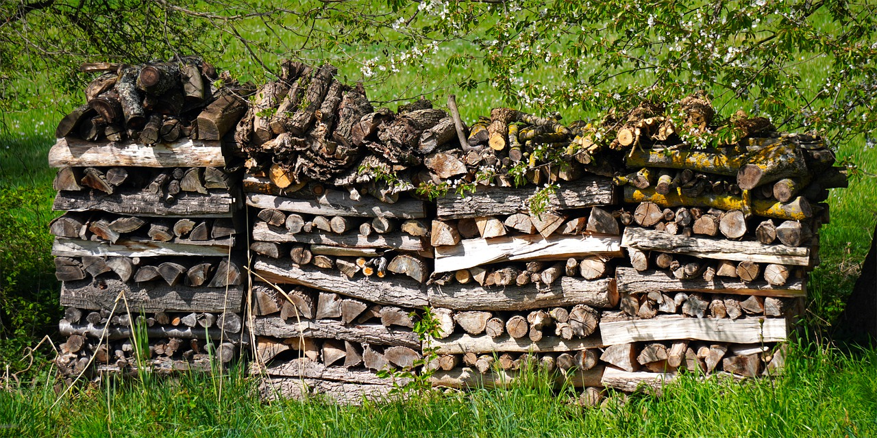 Naturnaher Garten Ideen_Totholzstapel