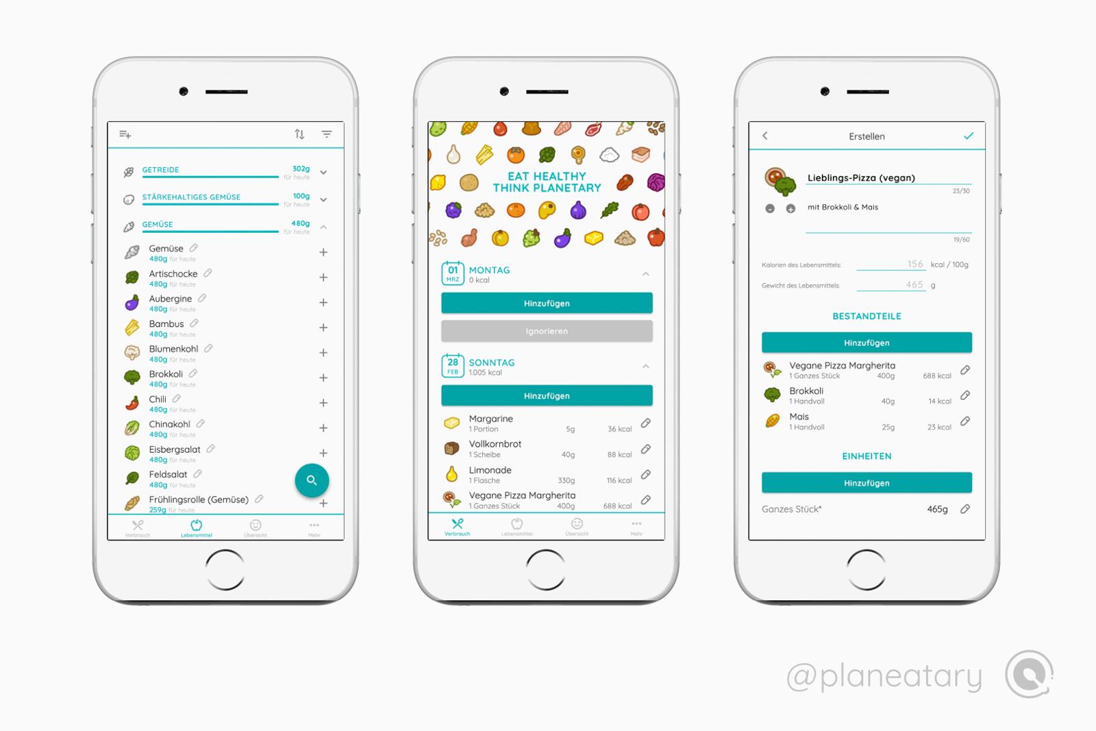 Planeatary App_planetary health diet_gesund und nachhaltig ernähren_App